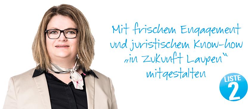 Bettina Dolfi in den Gemeinderat